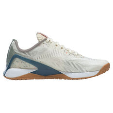 Reebok X1 Grow Womens Training Shoes White/Green US 6, White/Green, rebel_hi-res