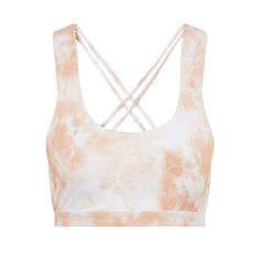 L'urv Womens Solar Mist Crop Top Orange XS, Orange, rebel_hi-res