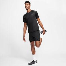 Nike Mens Dri-FIT 7in Running Shorts, Black, rebel_hi-res