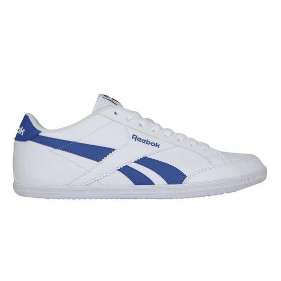 Reebok Royal Transport 5 Mens Casual Shoes White   Blue US 13 ... e631c1058