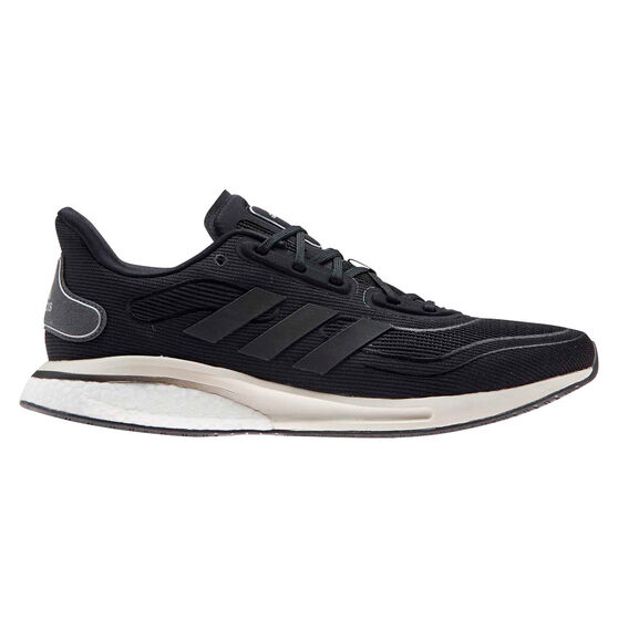 adidas Supernova Mens Running Shoes, Black/Grey, rebel_hi-res