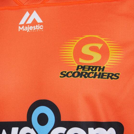 Perth Scorchers 2019/20 Mens BBL Jersey, Orange, rebel_hi-res