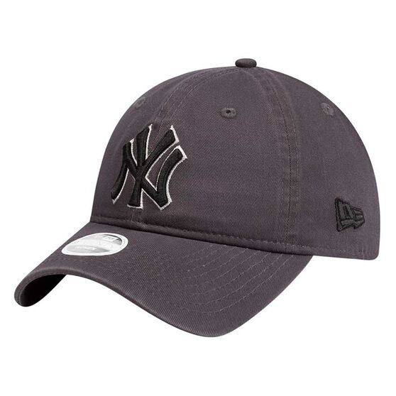 New York Yankees Womens New Era 9TWENTY Graphite Team Cap, , rebel_hi-res