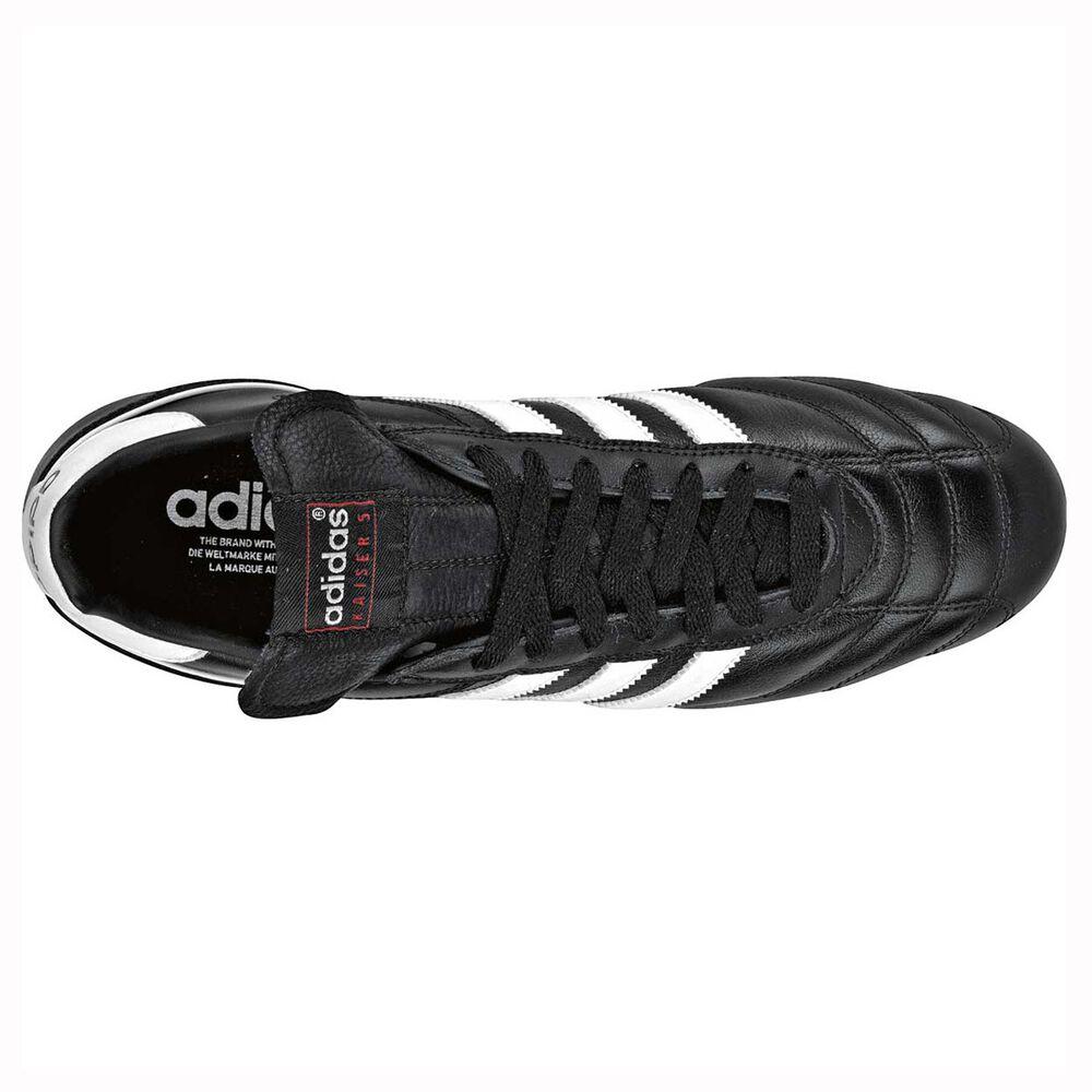 info for 7b4e7 e3735 adidas Kaiser 5 Liga Mens FG Football Boots Black   White US 8 Adult, Black