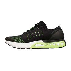 Under Armour Speedform Europa Mens Running Shoes Black / Green US 7, Black / Green, rebel_hi-res