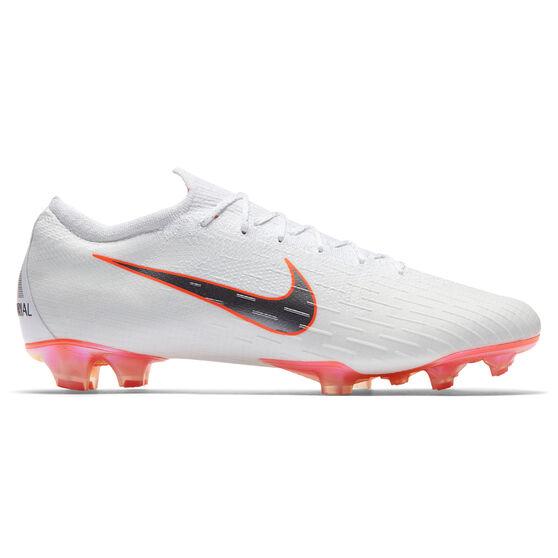 Nike Mercurial Vapor XII Elite Mens Football Boots White   Grey US ... f94c0b546a