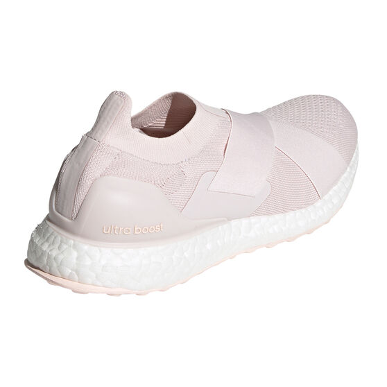 adidas Ultraboost Slip-on DNA Womens Running Shoes, Pink/White, rebel_hi-res