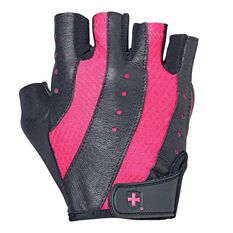 Harbinger Womens Pro Training Gloves Black / Pink S, Black / Pink, rebel_hi-res