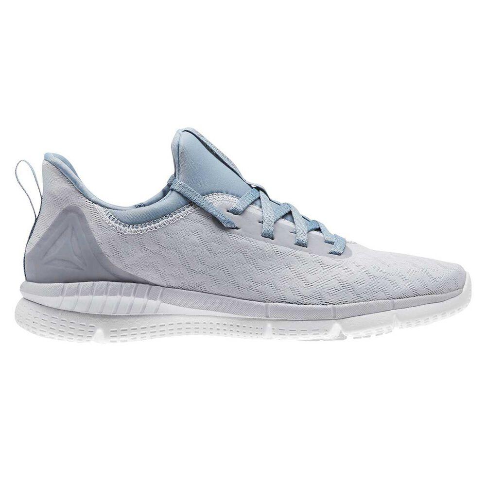 Reebok Print Her 2.0 Womens Running Shoes Grey   Blue US 9  5d1b0cb00