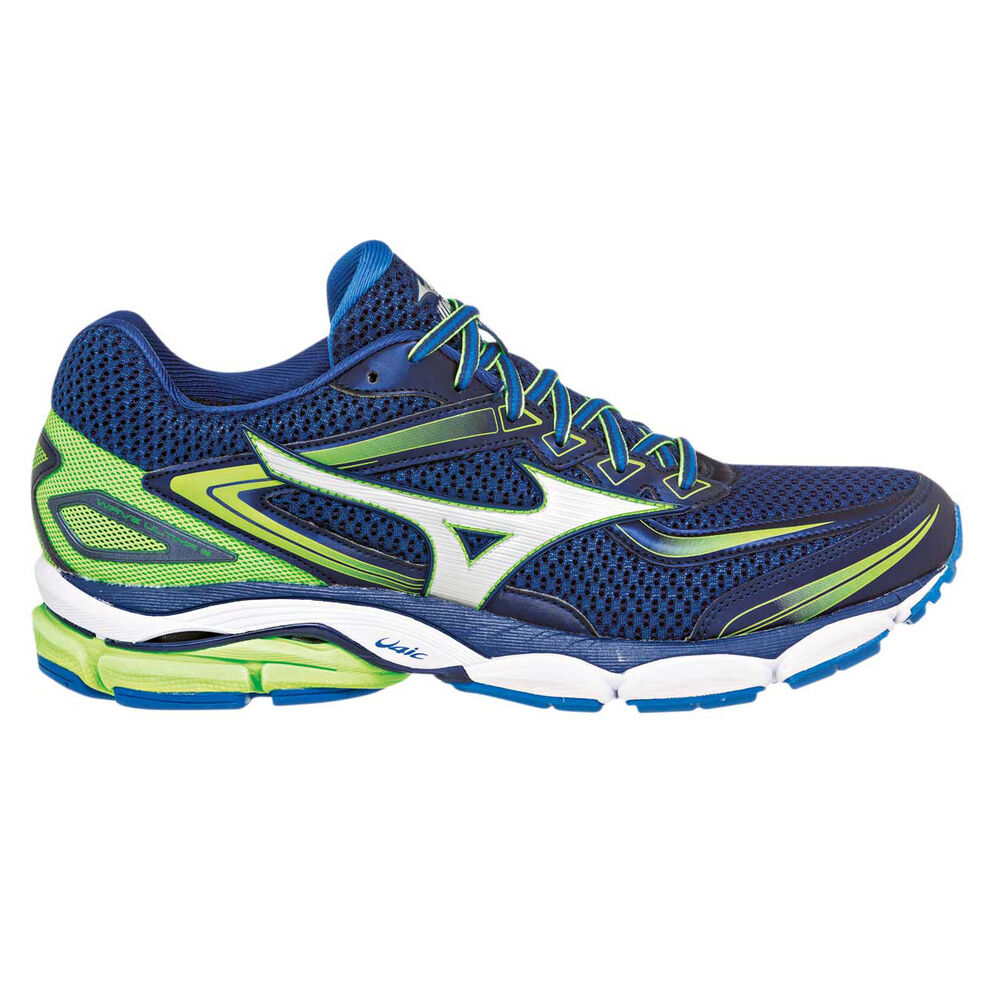 4eb5c6f841c80 Mizuno Wave Ultima 8 Mens Running Shoes Blue / Green US 8, Blue / Green