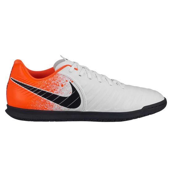 Nike Tiempo Legend VII Club Indoor Soccer Shoes White / Black US 9.5 / Wo11, White / Black, rebel_hi-res