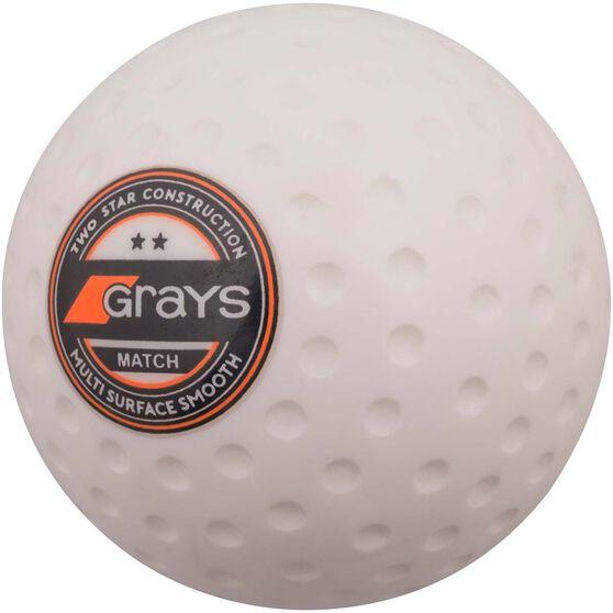 Grays   Match Ball White, , rebel_hi-res