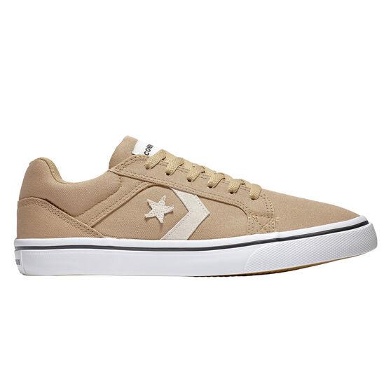 Converse El Distrito 2.0 Mens Casual Shoes, Khaki/White, rebel_hi-res