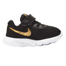 Nike Tanjun Toddlers Shoes Black / Gold US 4, , rebel_hi-res