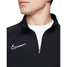 Nike Mens Dri-FIT Academy 21 Drill Top, Black, rebel_hi-res
