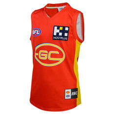 Gold Coast Suns 2020 Kids Home Guernsey Red 6, Red, rebel_hi-res