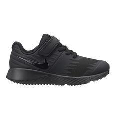 Nike Star Runner Kids Running Shoes Black US 11, Black, rebel_hi-res