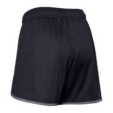 Under Amour Womens UA Tech Mesh 5 Inch Shorts Black XS, Black, rebel_hi-res