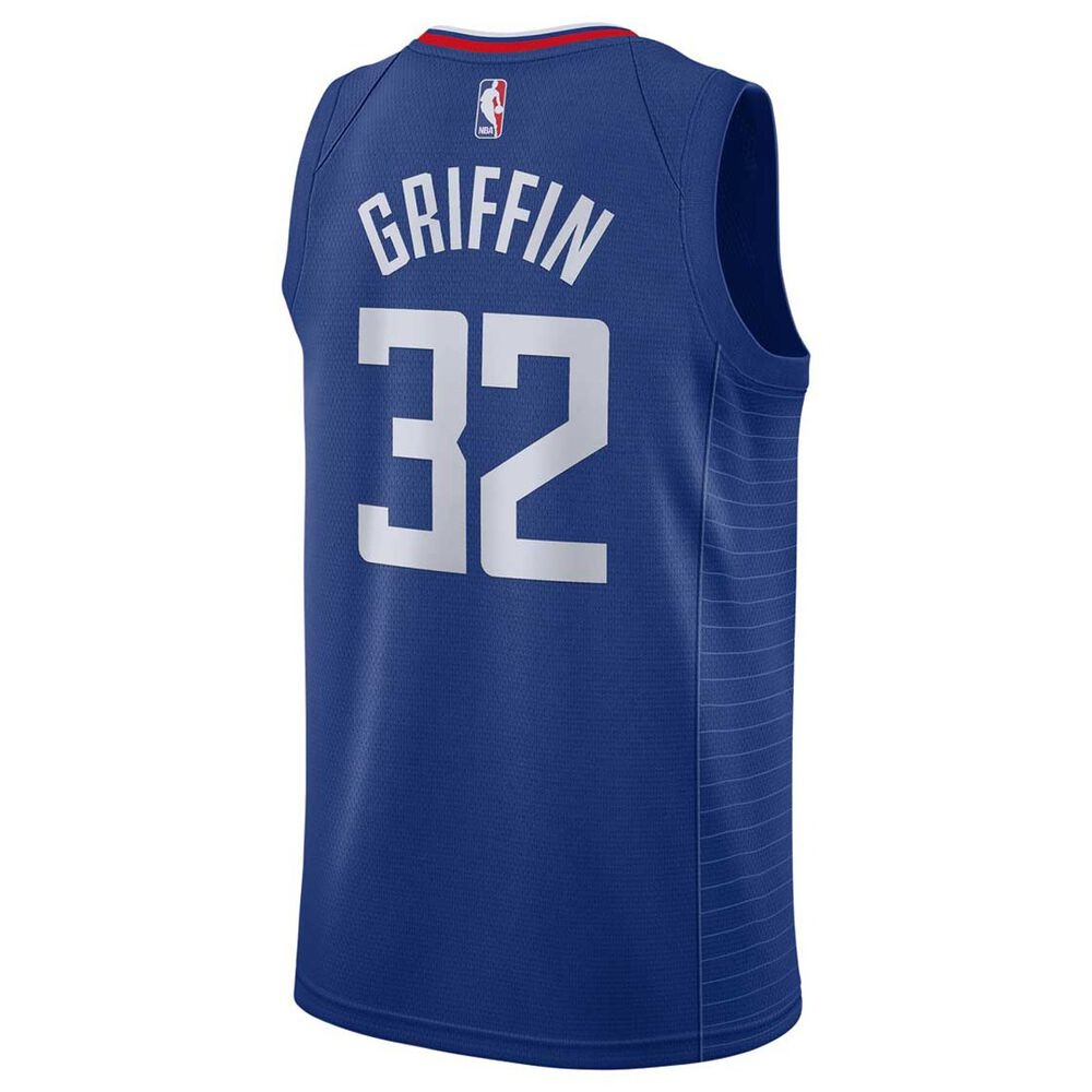 best cheap 4351a f753e Nike Los Angeles Clippers Blake Griffin 2018 Mens Swingman Jersey Rush Blue  S
