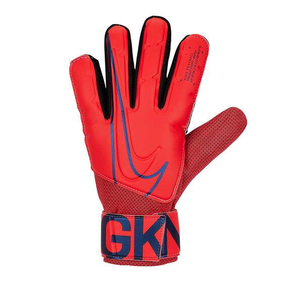 Nike Match Goalkeeping Gloves, Red / Black, rebel_hi-res