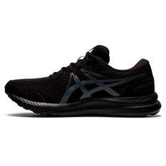Asics GEL Contend 7 Mens Running Shoes Black/Grey US 7, Black/Grey, rebel_hi-res