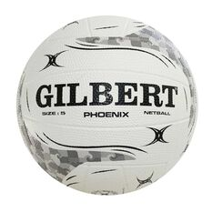 Gilbert Phoenix White Netball White 4, , rebel_hi-res