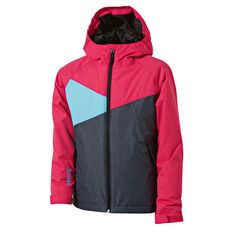 SVNT5 Girls Buller Jacket Pink / Grey 4, Pink / Grey, rebel_hi-res