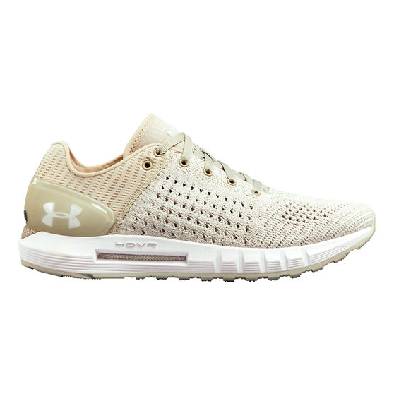 Under Armour HOVR Sonic Womens Running Shoes, Grey / White, rebel_hi-res