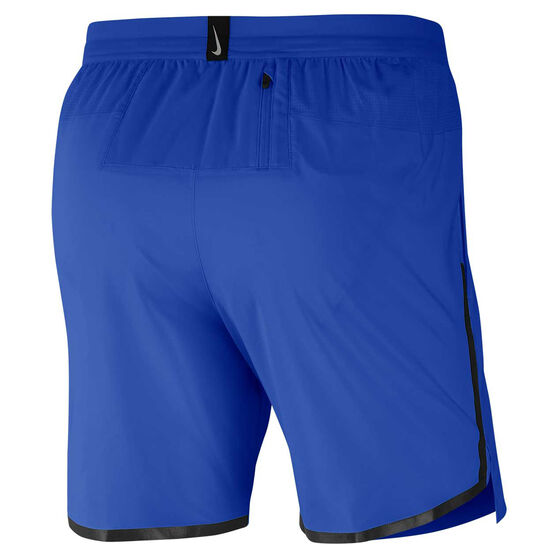 Nike Mens Air Flash Flex Stride 7in Running Shorts Blue S, Blue, rebel_hi-res