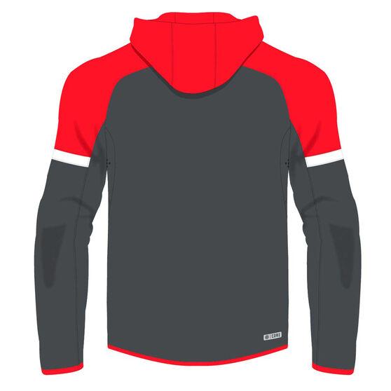 Sydney Swans 2020 Mens Tech Pro Hoodie, Red/Grey, rebel_hi-res