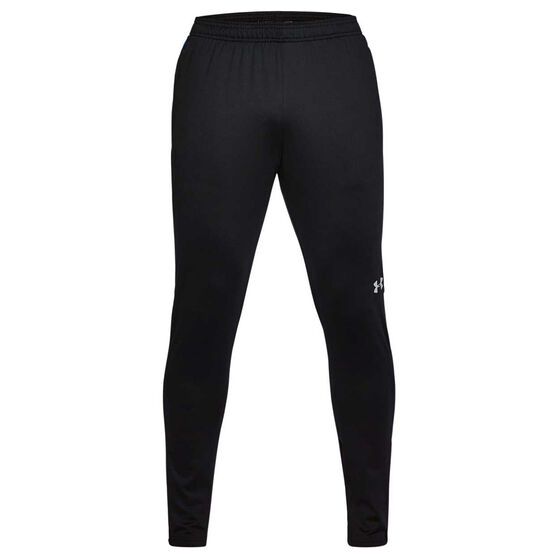 Under Armour Mens Challenger II Training Pants, Black / Royal Blue, rebel_hi-res