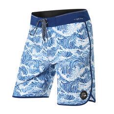 Quiksilver Mens Highline Legend 19in Boardshorts Blue 30, Blue, rebel_hi-res
