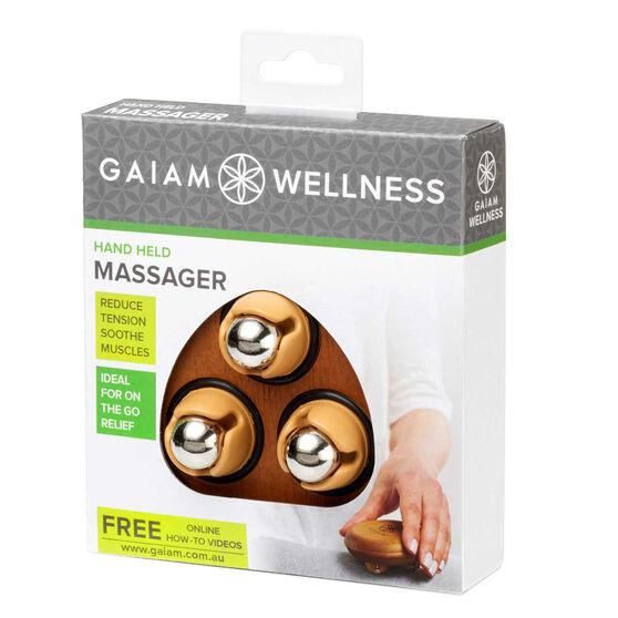 Gaiam Wellness Hand Held Massager, , rebel_hi-res