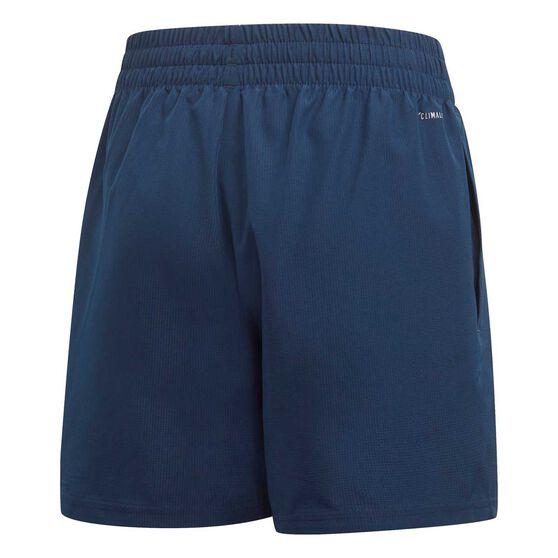 adidas Boys Club Shorts, Navy / White, rebel_hi-res