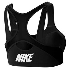 Nike Womens Shape High Support Sports Bra Black XS, Black, rebel_hi-res