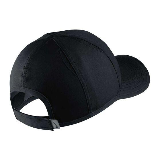 Nike Boys AeroBill Featherlight Cap Black / White OSFA, Black / White, rebel_hi-res