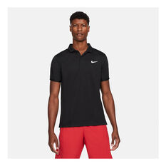 NikeCourt Dri-FIT Victory Men's Tennis Polo Black XS, Black, rebel_hi-res