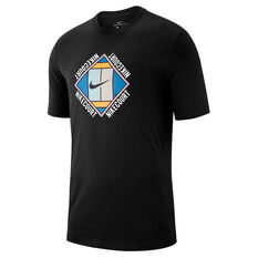 Nike Mens Court Graphic Tee Black XS, Black, rebel_hi-res