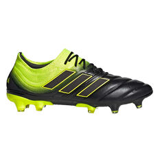 17b93e6ba6e adidas Copa 19.1 Mens Football Boots Black   Yellow US Mens 7   Womens 8