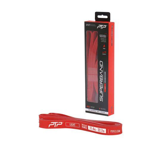 PTP SuperBand Light, Red, , rebel_hi-res
