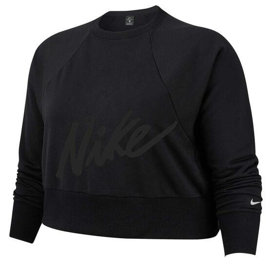 Nike Womens Dri FIT Training Top Plus, , rebel_hi-res