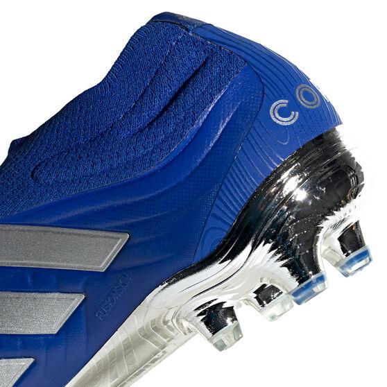 adidas Copa 20+ Football Boots Blue/Silver US Mens 13 / Womens 14, Blue/Silver, rebel_hi-res
