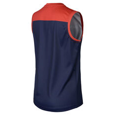 Melbourne Demons 2019 Youth Home Guernsey Blue / Red XS, Blue / Red, rebel_hi-res