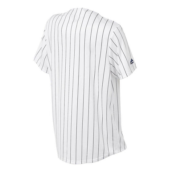 New York Yankees Mens Replica Jersey White, White, rebel_hi-res