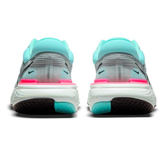 Nike ZoomX Invincible Run Flyknit Mens Running Shoes, Grey/Black, rebel_hi-res