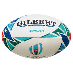 Gilbert Rugby World Cup Replica Rugby Ball - 10 inch, , rebel_hi-res