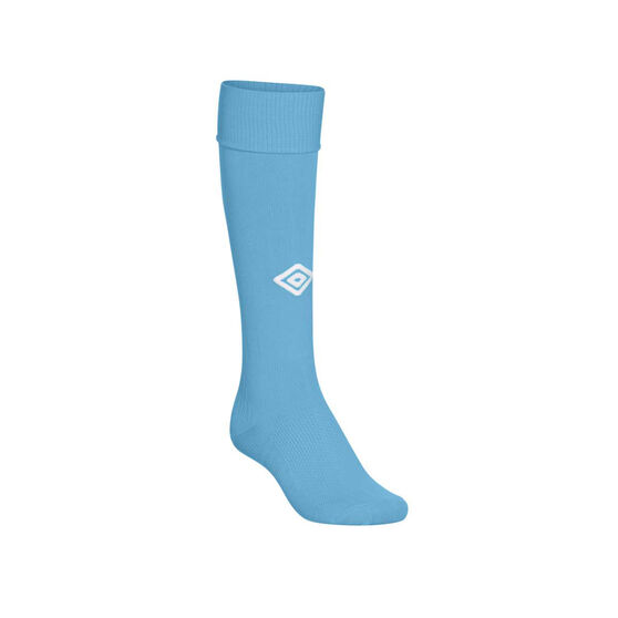 Umbro Mens League Socks, Sky Blue, rebel_hi-res