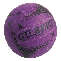 Gilbert Pulse Netball Purple 4, Purple, rebel_hi-res