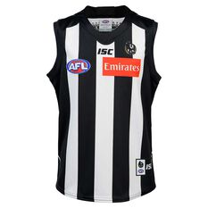 Collingwood Magpies 2020 Kids Home Guernsey Black / White 6, , rebel_hi-res