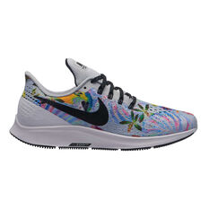 Nike Air Zoom Pegasus 35 GPX Womens Running Shoes White / Multi US 6, White / Multi, rebel_hi-res